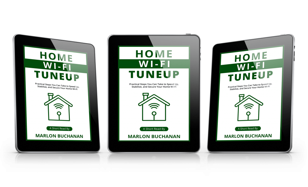 Home Wi-Fi Tuneup Tablet