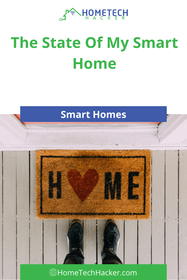 the state of My smart home Pinterest Pin